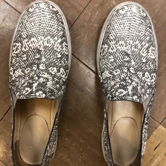 Stuart Weitzman Shoes - Stuart Weitzman snake embossed slip on sneakers